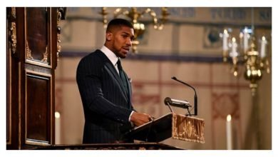 Photo of Anthony Joshua to test for Coronavirus, goes into self-isolation after meeting Prince Charles