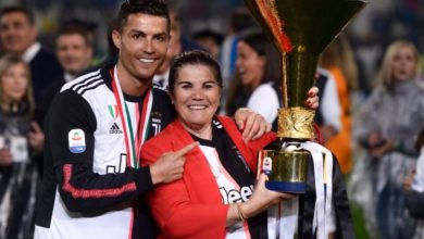 Photo of Ronaldo breaks silence after his mother suffered stroke