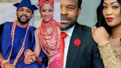 Photo of Nigerians react to news of Banky W cheating on Adesua Etomi with Gabriel Afolayan's wife