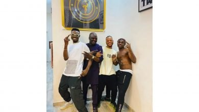 Photo of Zlatan and Obesere hits the studio (Pictures)