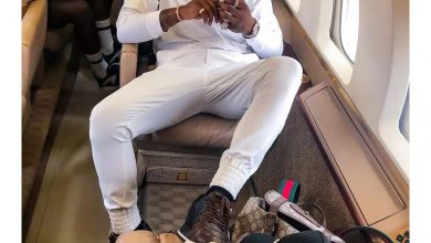 Photo of Davido did not buy any jet, See the real owner (Pictures)