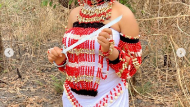 Photo of Regina Daniels stuns in royal costume (Photos)