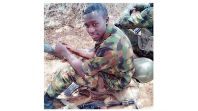 Photo of Photo of handsome soldier killed during Boko Haram attack in Damboa