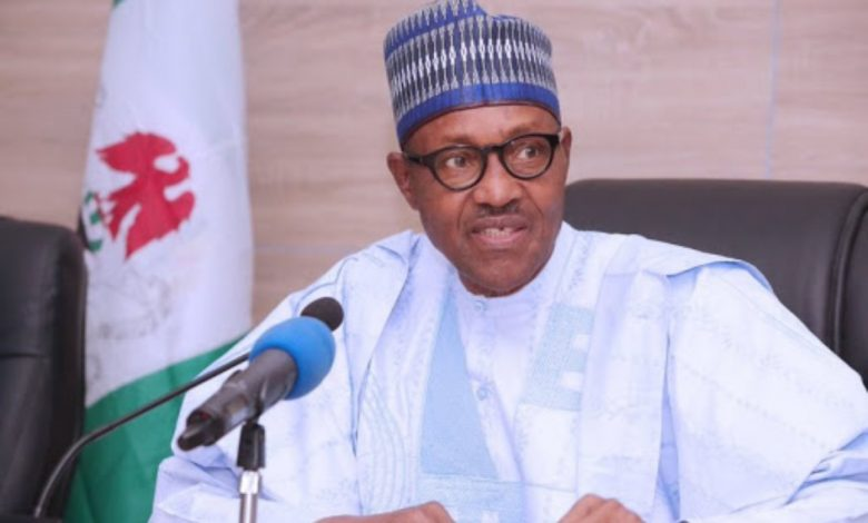 Buhari talking to Nigerians