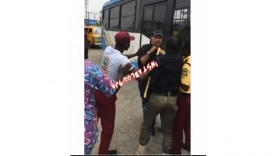 Photo of Foreign traffic offender fights policeman and Lastma officers in Lagos (Video)