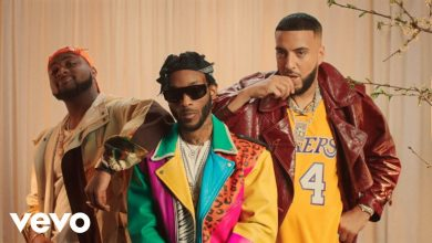 Photo of New Video & Lyrics: Angel feat. French Montana & Davido – Blessings (Remix)