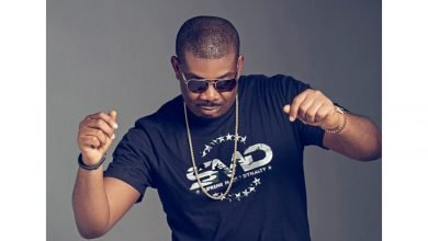 Photo of Donjazzy's heart leaps for joy after international musician, Rihanna did this to him