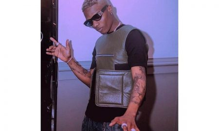 Wizkid cries out in pain