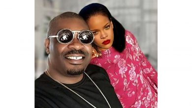 Photo of Don jazzy shares picture of him sleeping on international musician, Rihanna