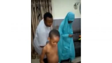 Photo of 'Some people are born sad' – Nigerians blast doctor for saying a man should not dance infront of his children