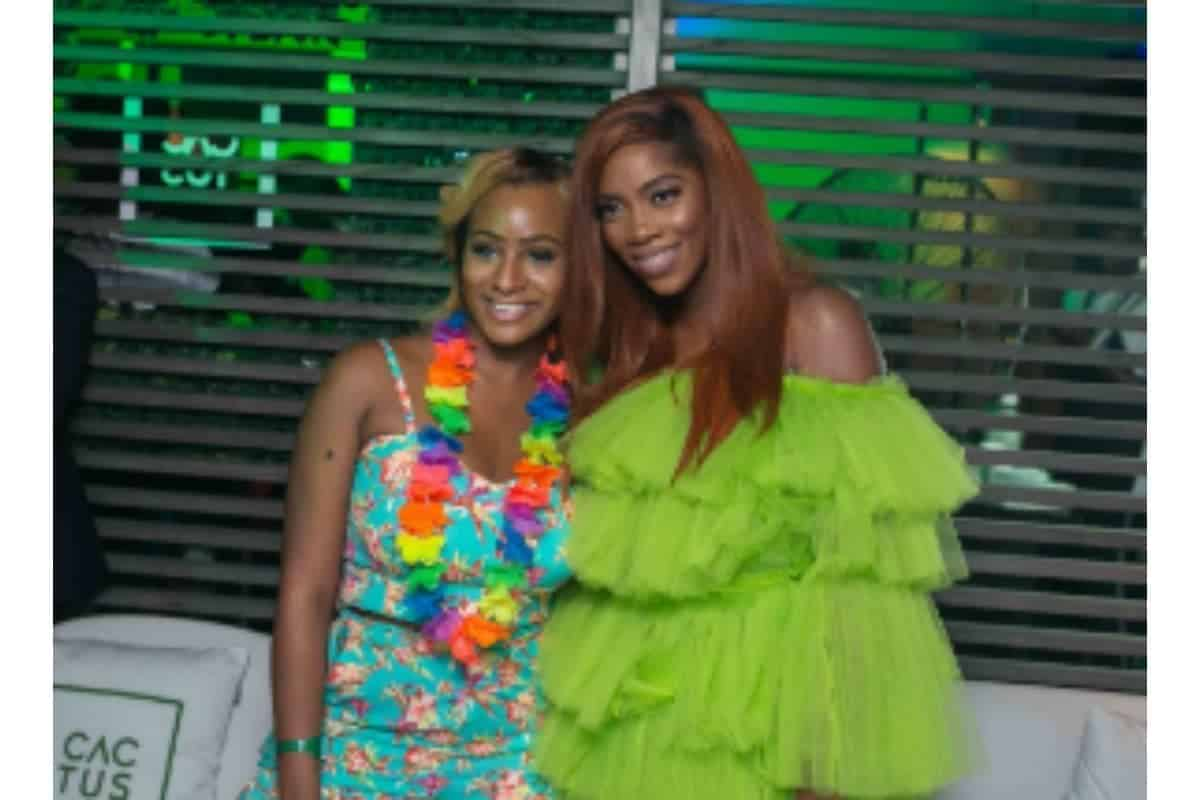 Tiwa savage gushes over DJ Cuppy