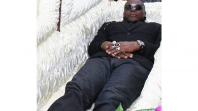 Photo of 'Death will find us where ever' – Charly Boy gives reason for posing inside casket in new pictures