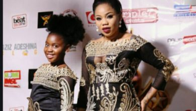 Photo of 'Letting you school abroad was not an easy choice' -Toyin Lawani brags as her daughter clocks 15 years