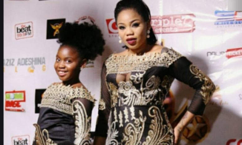 Toyin Lawani celebrates Daughter at 15