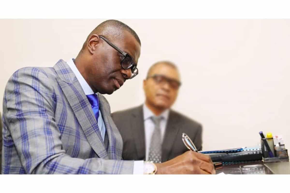 Babajide Sanwo-Olu writes a tribute to Abba Kyari
