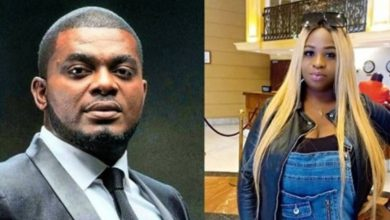 Photo of Deadbeat dad allegation: Singer Kelly Hansome accuses babymama of threatening his fiancée