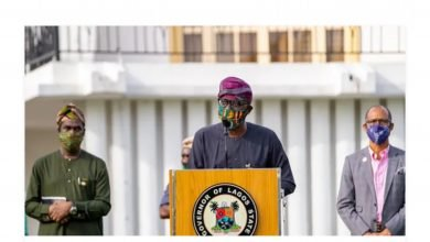 Photo of COVID-19: Lagos state announces compulsory wearing of mask by all residents