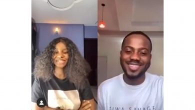 Photo of 'Love is sweet o' – Fans react to Korede Bello and Iyabo Ojo's daughter's romantic video