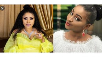 "Photo of ""Number one clout chaser"" – Nigerians drag Etinosa for mocking Halima Abubakar"