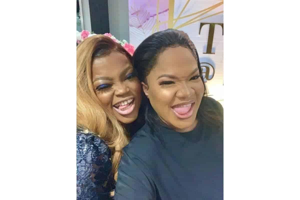 Toyin Abraham and others ignore Funke Akindele