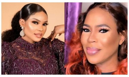 Nollywood actresses who has striking resemblance with their sons