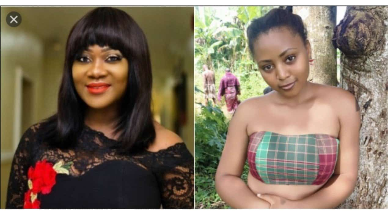Mercy Johnson and Regina Daniels