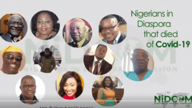 Photo of Nigerian Government releases faces of citizens who died from Coronavirus in U.K, U.S.A |Video