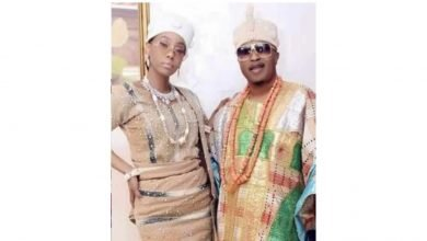 Photo of Oluwo of Iwo cheated with our maid, he also beat me – Former Olori, Chanel Chin cries out