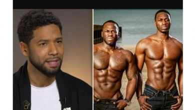 Photo of One of the Nigerian brothers who attacked Jussie Smollett for being gay was allegedly in a romantic relationship with him (Details)