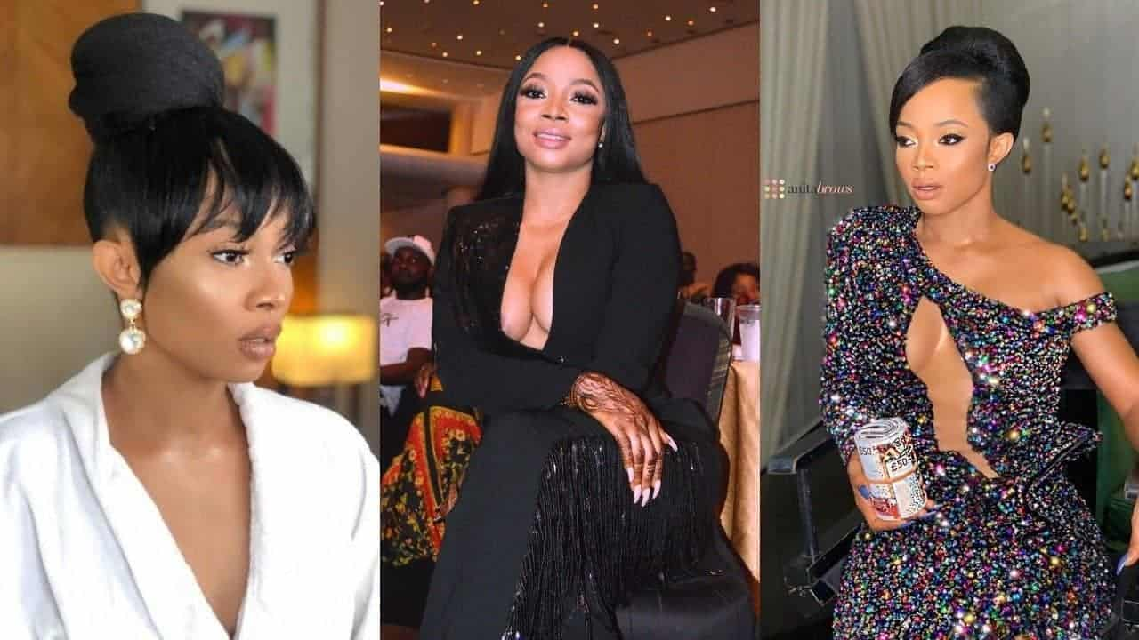 Cooking is not for me because i hate sweating' -Toke Makinwa confesses -  Kemi Filani News