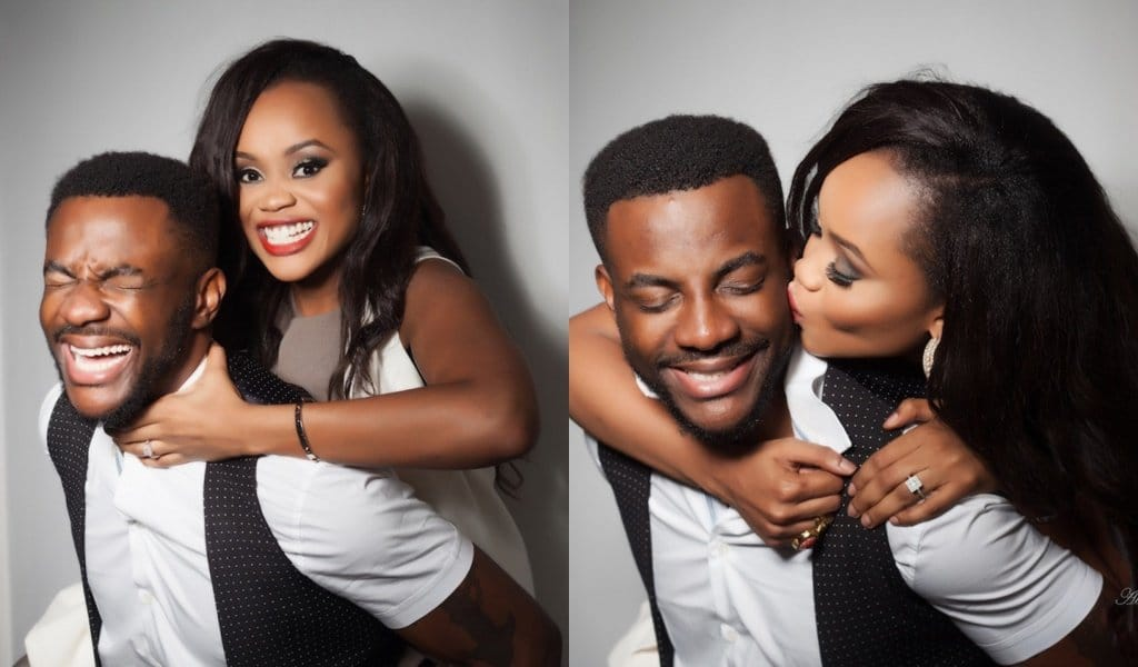 Ebuka shares video with his wife