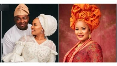 Photo of 'Thank you for adding colour to my world' – Oba Elegushi praises second wife on their first wedding anniversary
