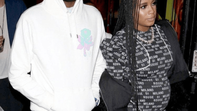 Photo of Meek Mill and girlfriend, Milan Harris welcome baby boy
