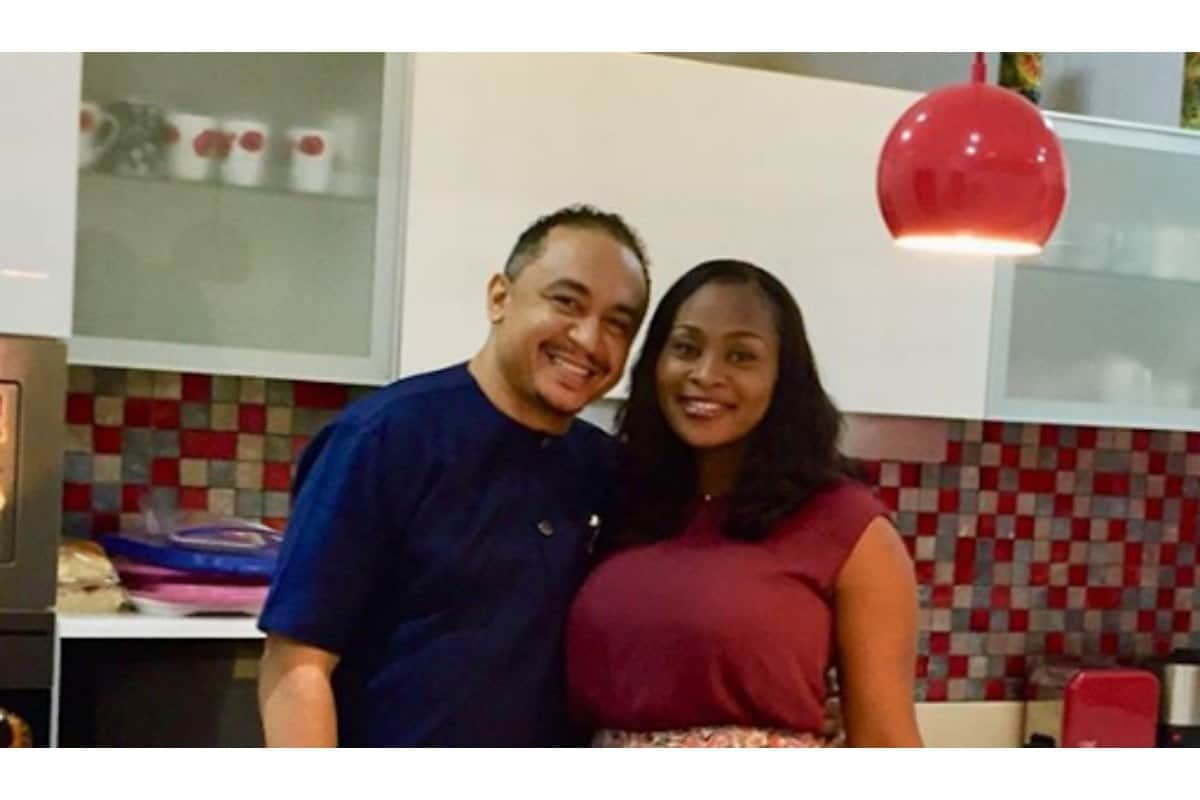 Daddy Freeze's lover celebrates him