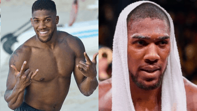 "Photo of ""I can't find love"", Anthony Joshua cries out"