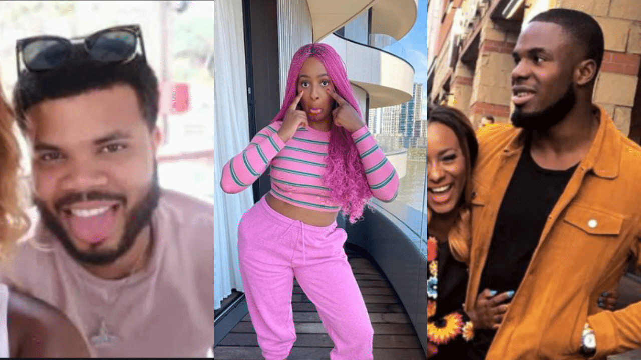 DJ Cuppy, Asa Asika and Victor Anichebe