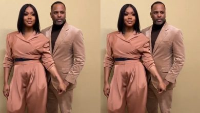 Photo of I was waiting for a dizzy love but I got a firm one | Lady showers praises on her husband.