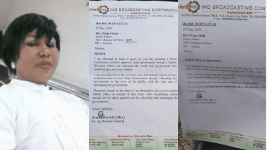 Photo of Outrage as Imo state sacks broadcaster for complaining of non-payment of salaries