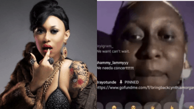 "Photo of ""I was younger and i erred"", Cynthia Morgan writes touching open letter"