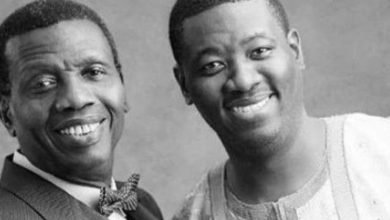 Photo of Pastor Adeboye prays for son on his 38th birthday, says miracle was performed the day he was born