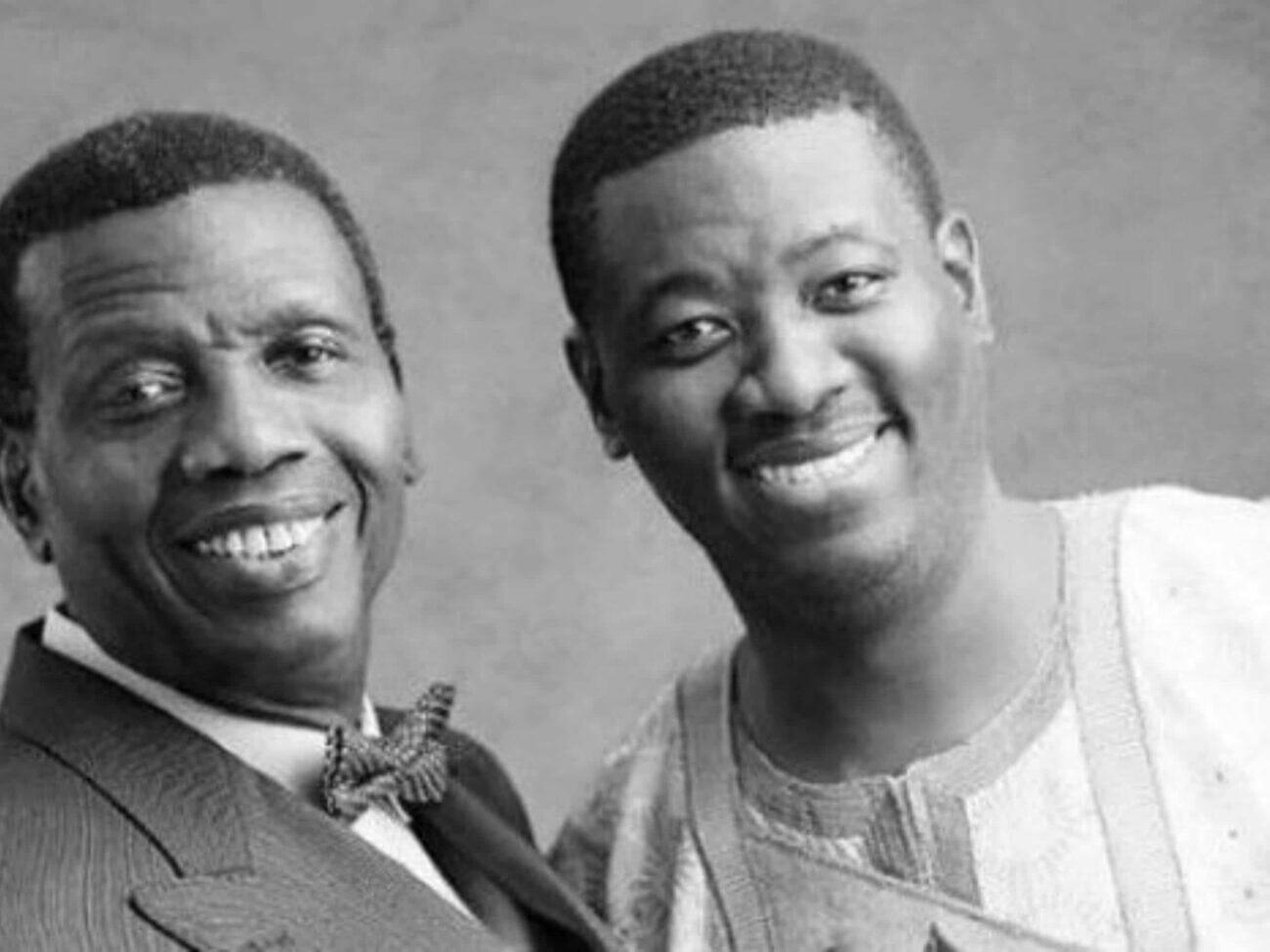 Pastor Adeboye and Leke Adeboye