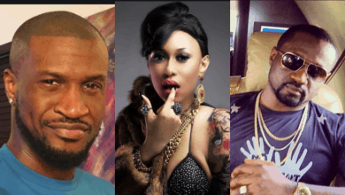Photo of Peter Okoye shades brother, Jude over the 'death' of Cynthia Morgan's career
