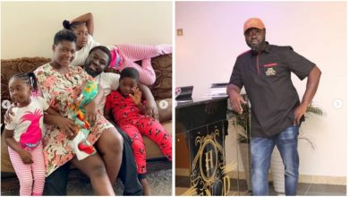 Photo of Mercy Johnson marks husband's birthday in style with their four kids (photos, video)