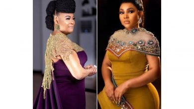 Photo of Mercy Aigbe narrates why she felt Sola Sobowale wanted to kill her acting career