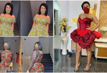 Photo of Covid-19: Mercy Aigbe, Nkechi Blessing, others take use of face masks to another level (photos)