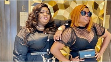 Photo of Actress, Eniola Badmus celebrates Funke Akindele on mother's day | See Funke's reply