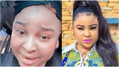 Photo of Bimbo Afolayan buys parents a mansion as Sallah gift months after mum was beaten up by her landlord (photos, video)