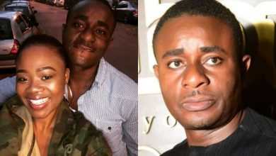 Photo of Actor, Emeka Ike fights dirty with a follower who said his new wife does not fit him like his first wife
