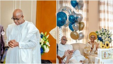 Photo of Pastor E.A Adeboye, others attend Ogun governor's 60th birthday (photos)
