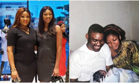 Omotola Jalade's throwback picture